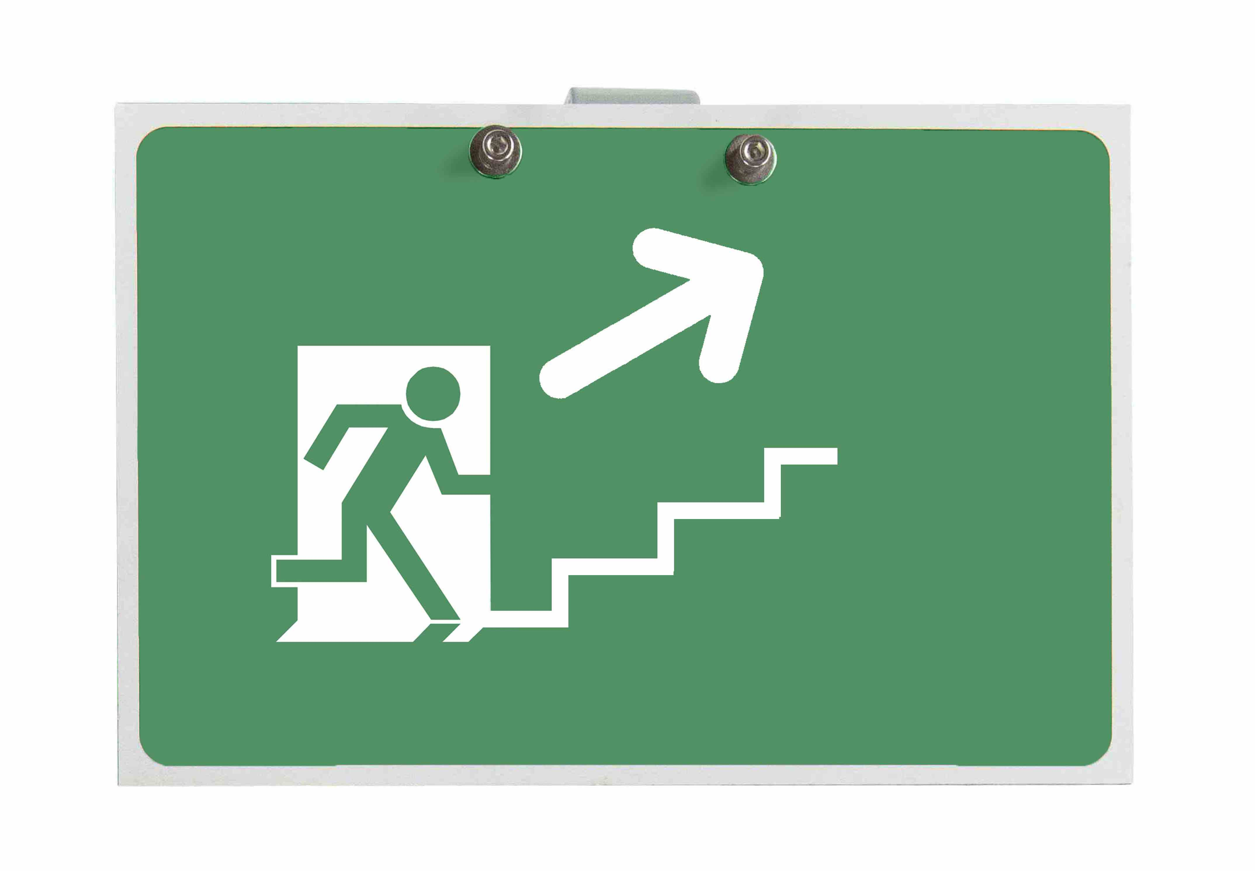 Replacement Exit Sign for ATEX-EXP-EMG-EXT-LE6-1L-V2-50HZ-SP0115 Emergency Staircase Exit Signs