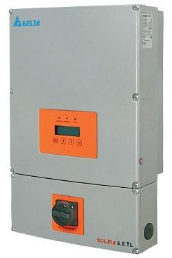 Delta Group:SOLIVIA 6600 TL Inverter
