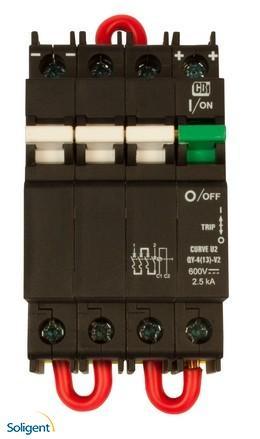 Midnite Solar Inc: DIN Mount Circuit Breaker (MNEPV16-600)