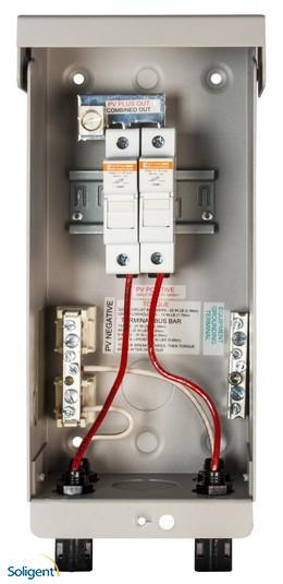 Midnite Solar Inc:Combiner Box Pre-Wired for 2 Strings