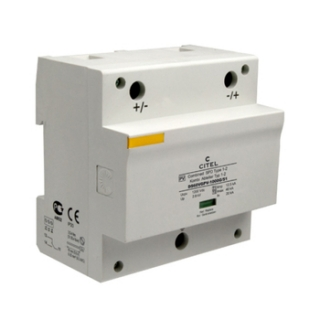 Citel DS60VGPV-1000 DIN Mount 1000VDC Surge Protector
