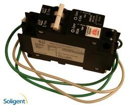 Midnite Solar Inc: DIN Mount Ground Fault Circuit Breaker (MNDC-GFP63 Breaker)