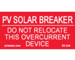 Hellermann 03-344 Solar Breaker Label Pack