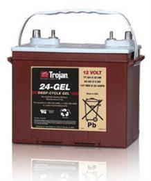 Trojan Battery Company: Deep-Cycle Sealed GEL 12V 125Ah Battery (5SHP-GEL)