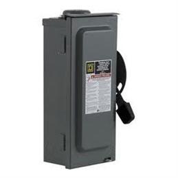 Square D:Circuit Breaker, 60A, NEMA 3R (HU362RB)