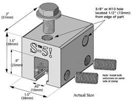 S-5!:S-5 Clamp, (S-5-U mini)