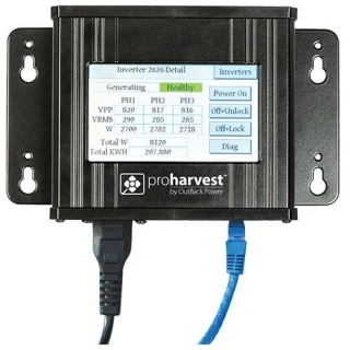 OutBack Power Systems: OutBack, ProHarvest, Communication Gateway, 277V. Includes Ethernet Cable, memory card for logging