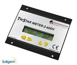 Morningstar Corp:TriStar 600V LCD Digital Meter (TS-M-2-600V)