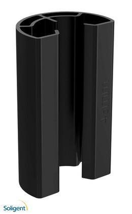 IronRidge:Stopper Sleeve, 35mm, UFO-STP-35MM-B