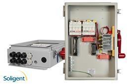 Midnite Solar Inc:Disconnect Combiner - Dual 2x15A Fused Inputs (MNPV8HV-DLTL 4X)
