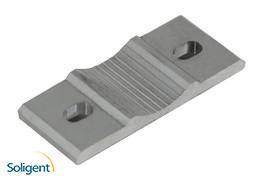 ProSolar:GroundTrac Snow Load Rail Enhancer - Silver