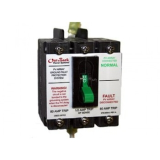 OutBack Power Systems: PV Ground-Fault Detector Interrupter Breaker (PNL-GFDI-80)
