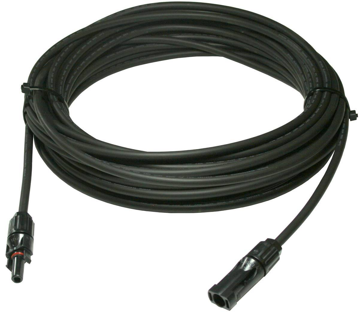 10AWG 25' 600VDC PV Wire w/ +/- MC4 Connectors