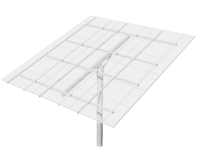 DPW TPM18-D Top-of-Pole Mount for 18 Type-D Modules