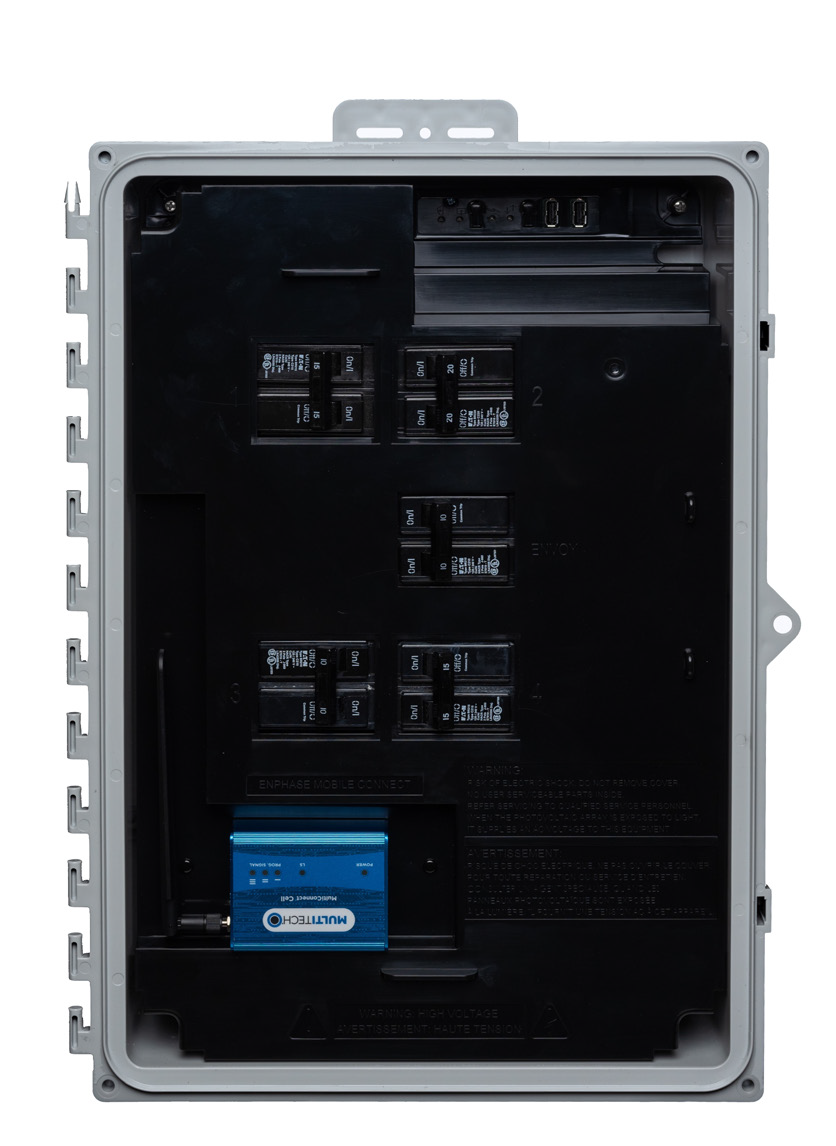 Enphase X-IQ-AM1-240-3C IQ+ Combiner Box w/ Envoy