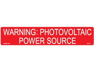 Hellermann 596-00206 Warning Label
