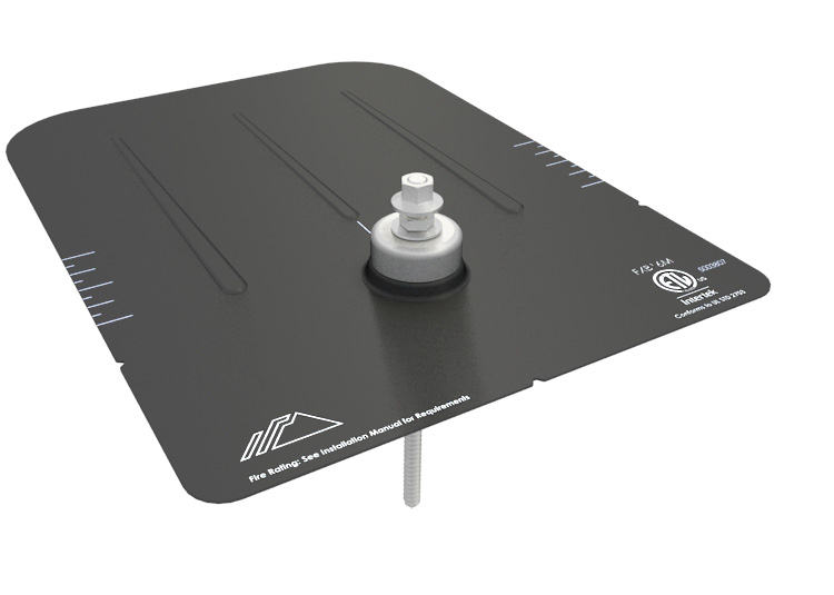 IronRidge FX-FLASH-HW Rail-Less Flashing HW Kit