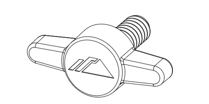 IronRidge FX-NORTH-SCREW Rail-Less Bridge Screw