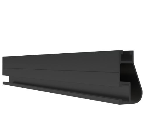 IronRidge XR-10-204B 17' Black XR10 Rail