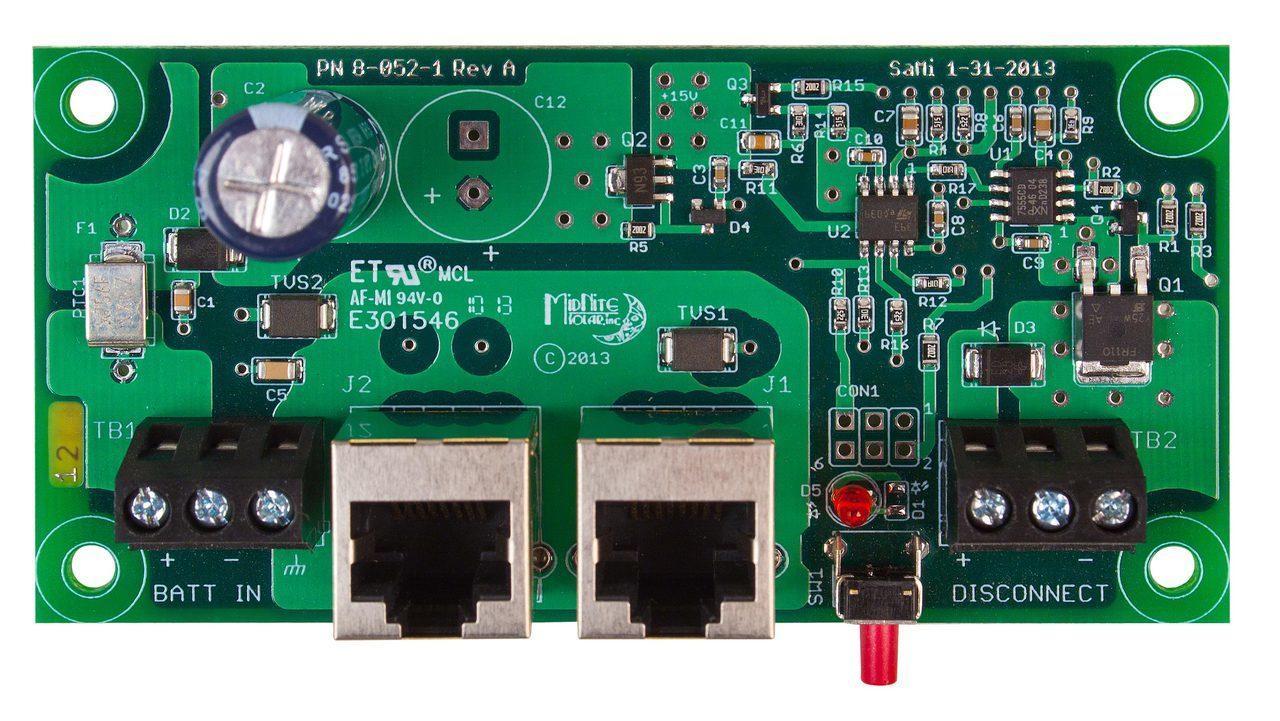 MidNite Solar MNBDM-48 Battery Disc Module