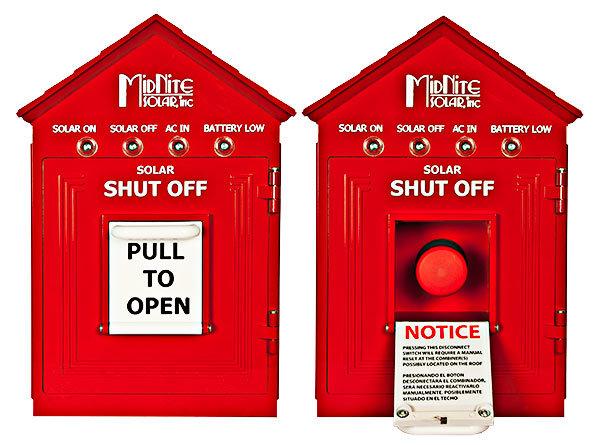 MidNite Solar MNBirdhouse 1-Red Birdhouse