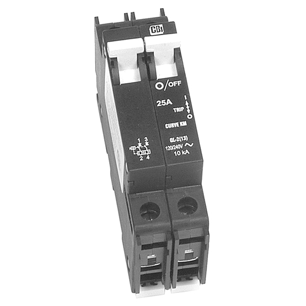MidNite Solar MNEAC50-2P DIN Mount 50A Circuit Breaker