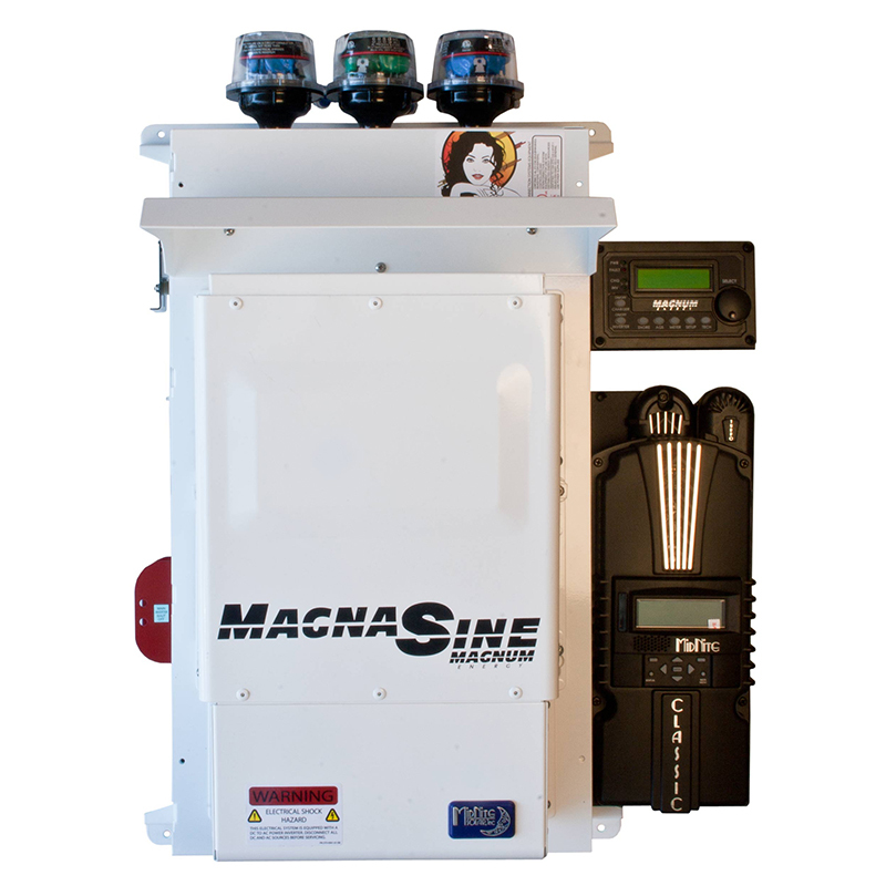 MidNite Solar MNEMS4448PAED-2CL150D Pre-Wired Off Grid System