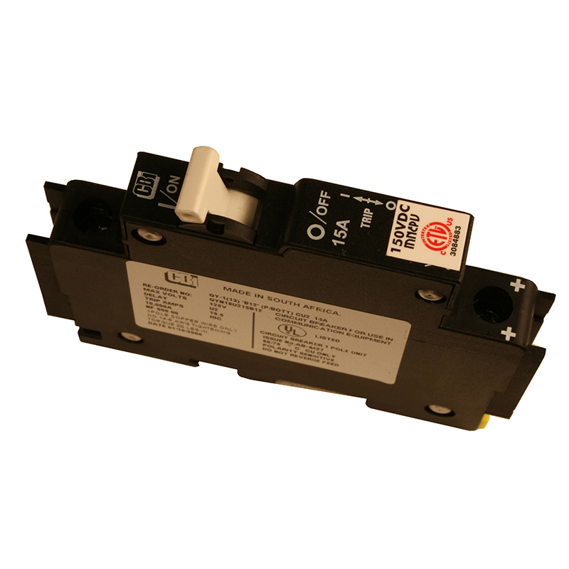 MidNite Solar MNEPV15 DIN Mount 15A Circuit Breaker