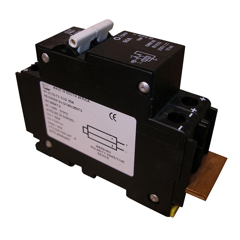 MidNite Solar MNEPV20-300 DIN Mount 20A Circuit Breaker
