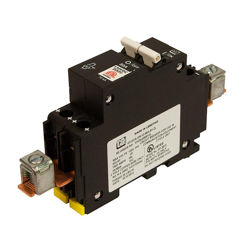 MidNite Solar MNEPV80 DIN Mount 80A Circuit Breaker