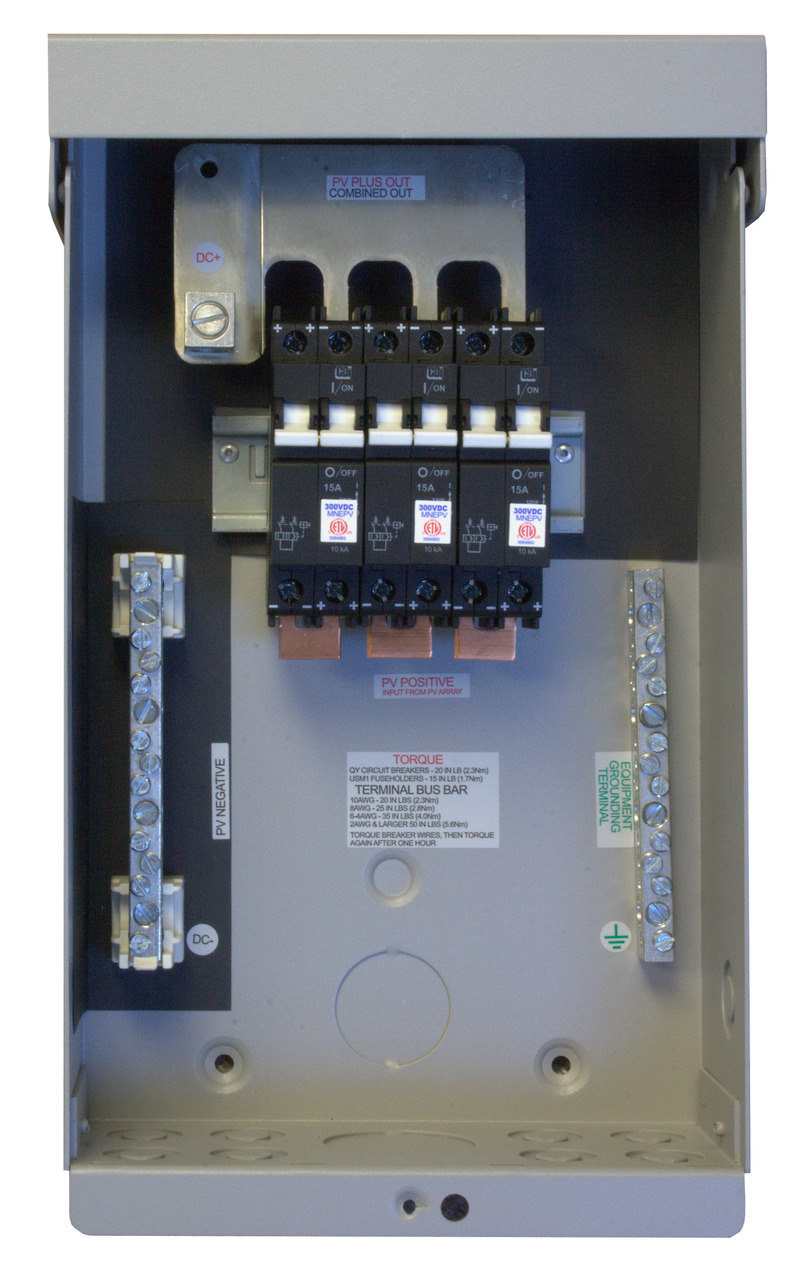 MidNite Solar MNPV6-250V Combiner Box