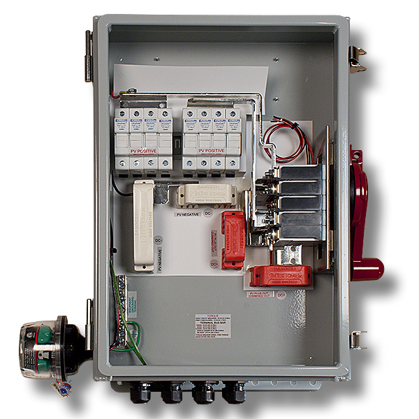 MidNite Solar MNPV8HV-DISCO 4X-PSB Combiner Box w/ Disc