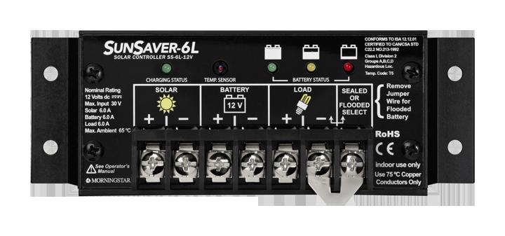 Morningstar SunSaver SS-6L-12V PWM Charge Controller