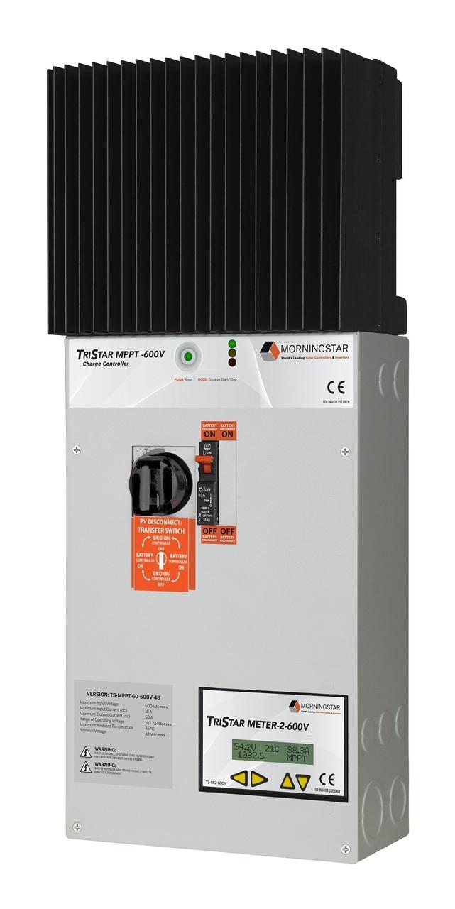 Morningstar TriStar TS-MPPT-60-600V-48-DB MPPT Charge Controller