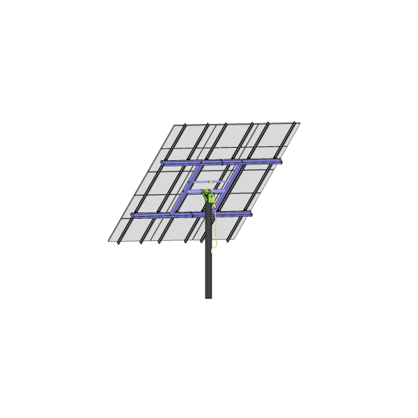 MT Solar 8-TOP-15-TALL-72 Top of Pole Mount