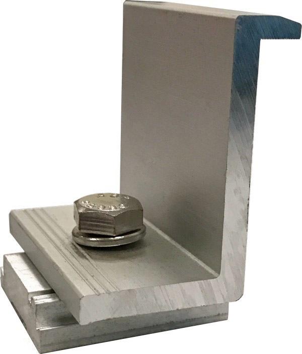 ProSolar C1606EC-1-G Clear End Clamp