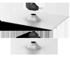 Quick Mount PV QMCPT A 1 Conduit Flashing