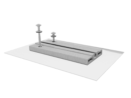 Quick Mount PV QMTR-BM A 12 Tile Base Mount