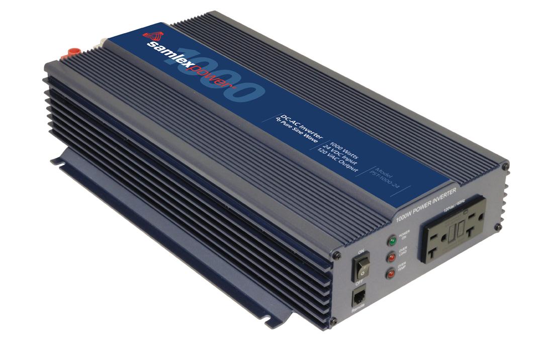 Samlex PST-1000-12 Pure Sine Wave 1000w Battery Inverter
