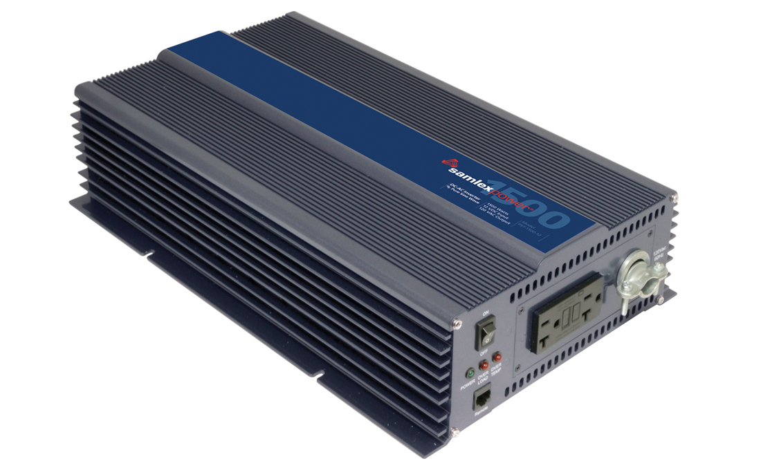 Samlex PST-1500-12 Pure Sine Wave 1500w Battery Inverter