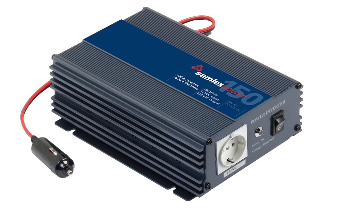 Samlex PST-15S-12E Pure Sine Wave 150w Battery Inverter