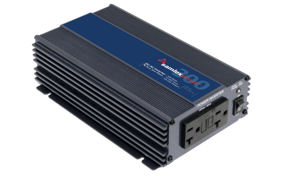 Samlex PST-300-12 Pure Sine Wave 300w Battery Inverter