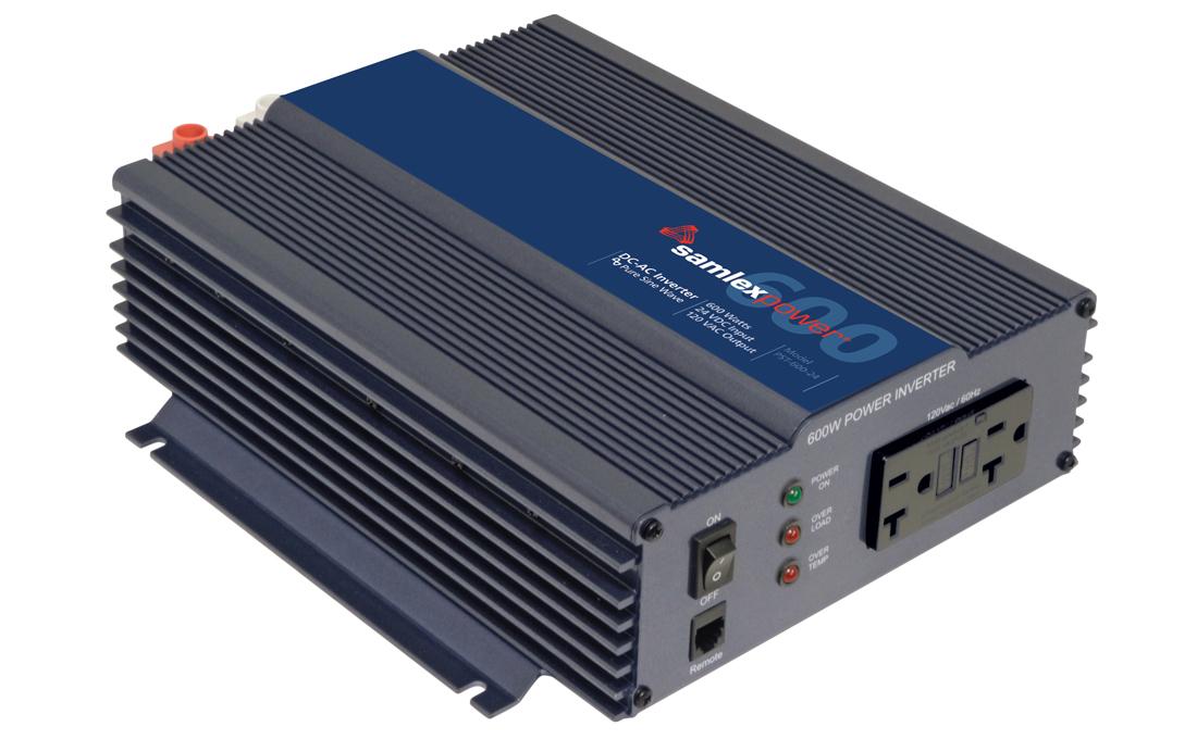 Samlex PST-600-24 Pure Sine Wave 600w Battery Inverter