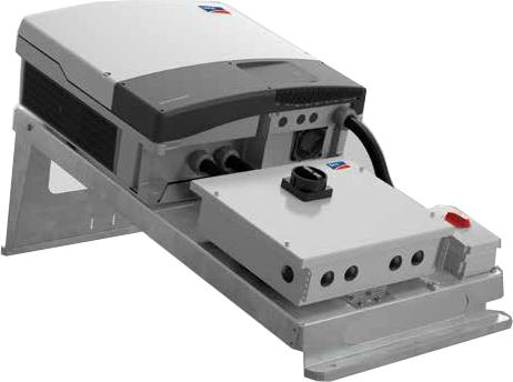 SMA STP-RACK-CU-AC4-24 Rack System w/ AC Switch
