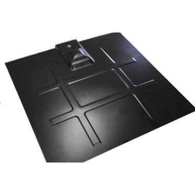 SnapNrack S-100 232-01151 Black Flashing w/ L-Foot