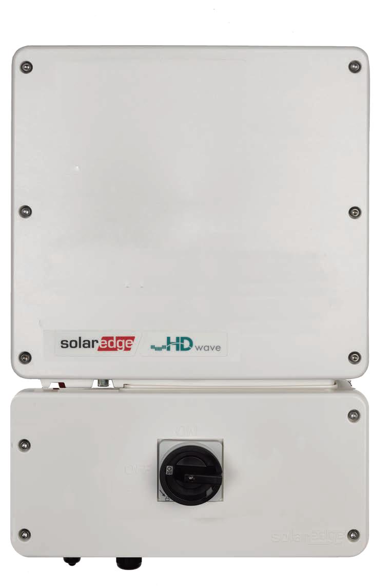 SolarEdge HD Wave SE11400H-US 11.4kW Inverter w/ RGM