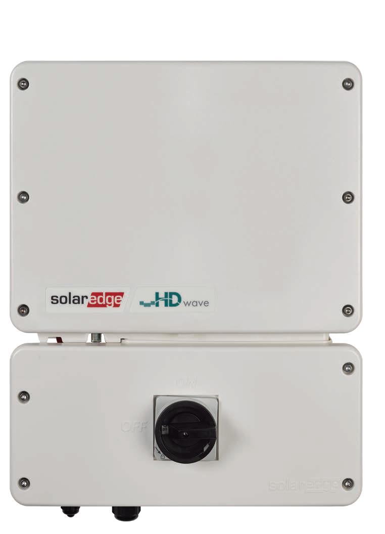 SolarEdge HD Wave SE6000H-US 6kW Inverter w/ RGM