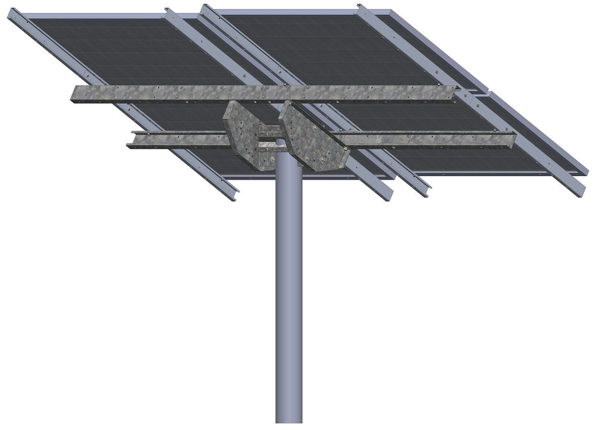 Tamarack Solar LTP-LCR/82R Top of Pole Mount