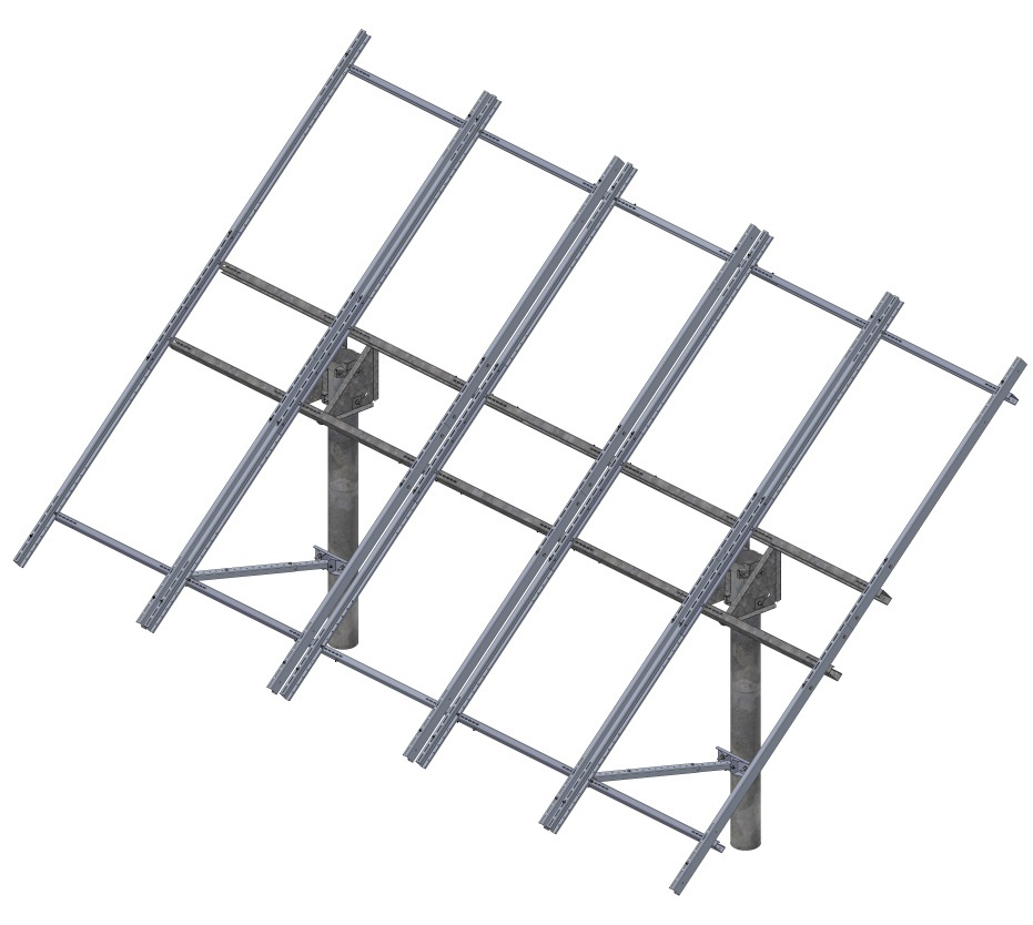 Tamarack Solar UNI-TP/10LL Top of Pole Mount