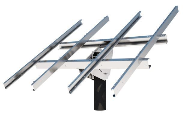 Tamarack Solar UNI-TP/12LL Top of Pole Mount
